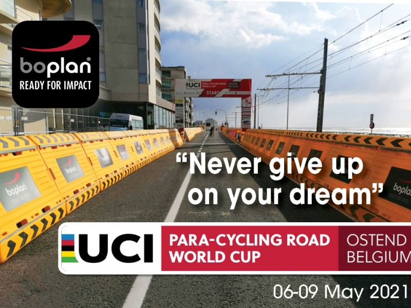 BOPLAN® safety partner of the UCI Para-cycling Road World Cup in Ostend
